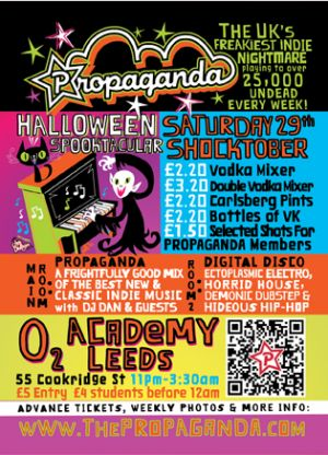 A 'Propa' Halloween